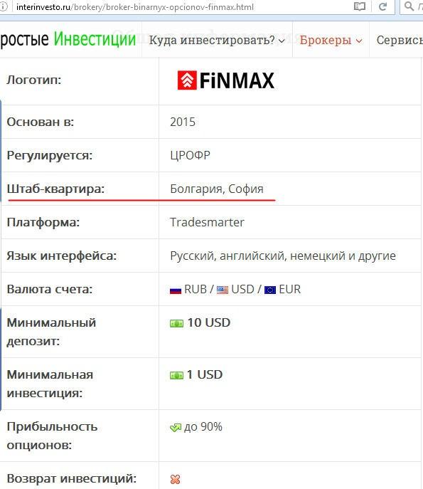 брокер финмакс